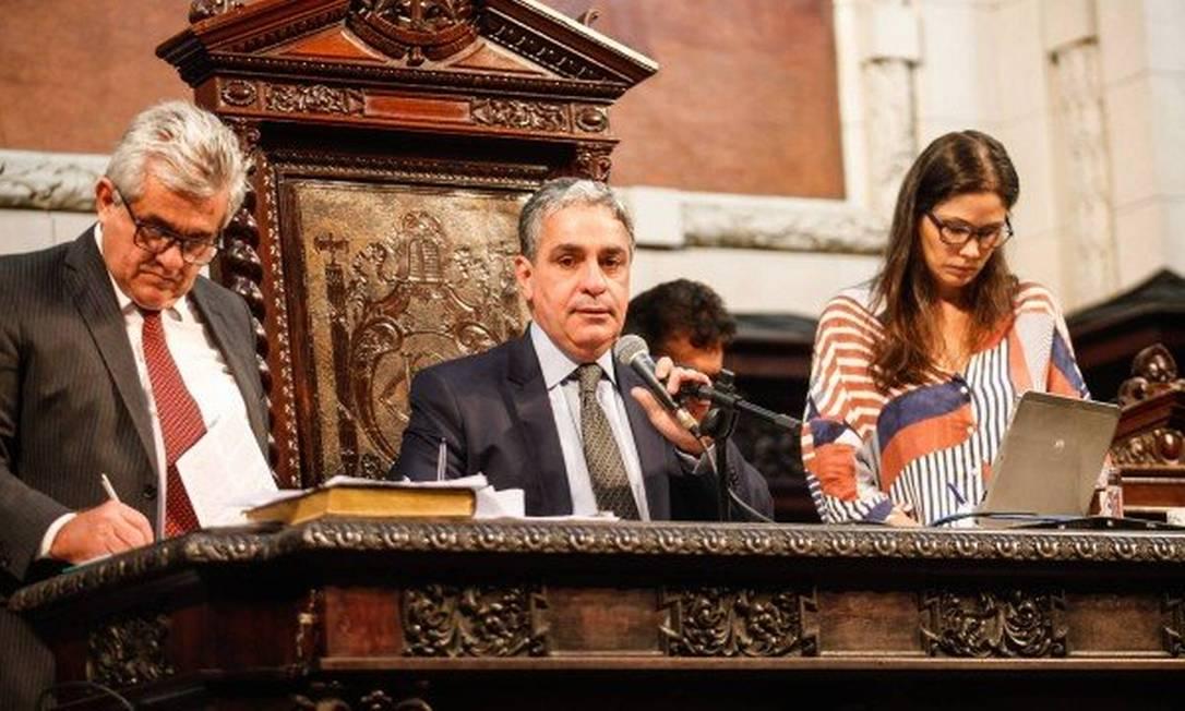 O presidente da Alerj, deputado André Ceciliano (PT) Foto: Octacílio Barbosa / Divulgação Alerj