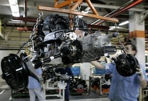 Declínio da indústria no Brasil é prematuro, dizem economistas Foto: Associated Press