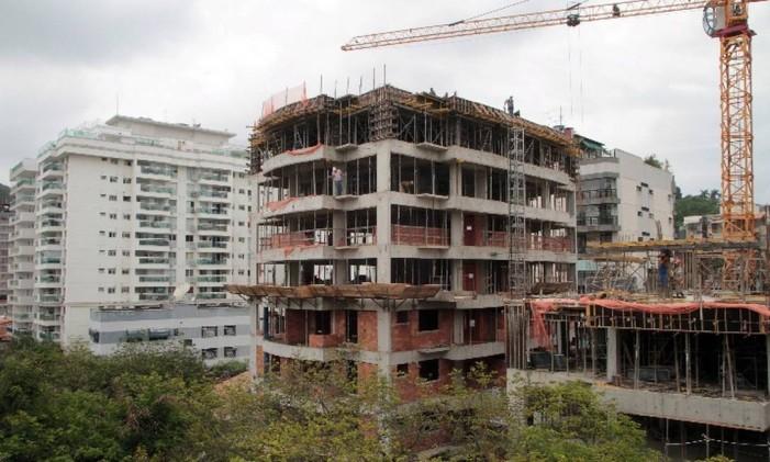 Imóvel em construção Foto: Arquivo