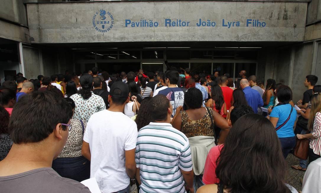 Custo da aplicação da prova digital, para 15 mil candidatos em 2020, será de R$ 20 milhões Foto: Thiago Freitas / Agência O Globo
