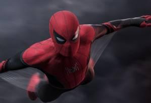 Cena do filme 'Homem-aranha: longe de casa' Foto: Divulgação