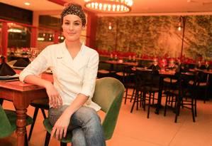 A chef Heaven Delhaye, do Chez Heaven Bistrot Foto: Roberto Moreyra / Agência O Globo
