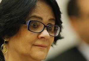 Damares Alves, ministra da Mulher, da Família e dos Direitos Humanos Foto: Jorge William / Agência O Globo