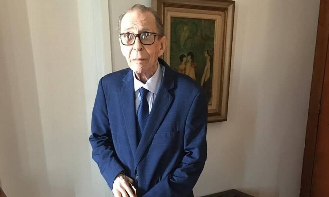 O músico João Gilberto Foto: Vinicius Belo