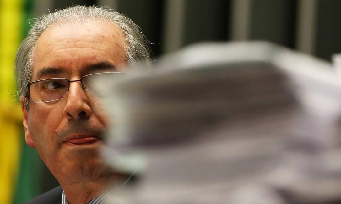 Eduardo Cunha Foto: Aílton de Freitas / Aílton de Freitas/Agência O Globo