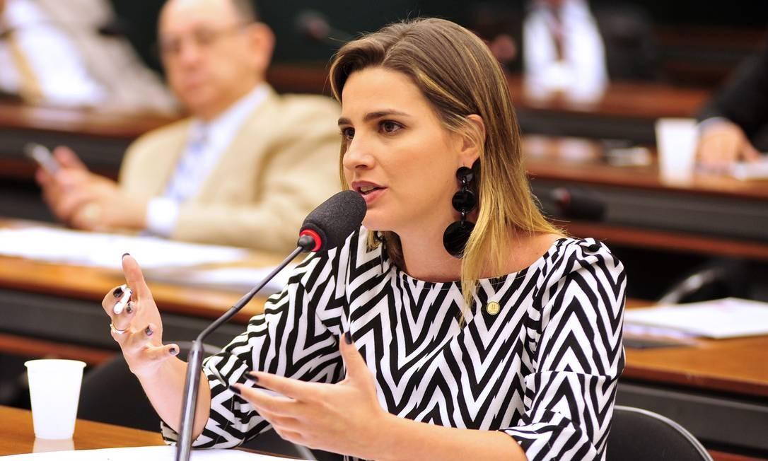 Deputada Clarissa Garotinho, do PR do Rio de Janeiro Foto: Zeca Ribeiro_ / Zeca Ribeiro / Câmara dos Deputados