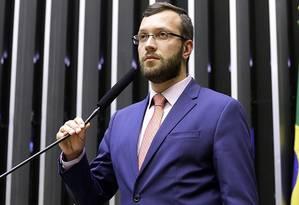 O deputado federal Filipe Barros (PSL-PR) Foto: Câmara dos Deputados