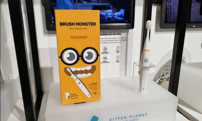 Escova de dente: tecnologia permite avaliar, via sensor, a escovação e duração prolongada de bateria Foto: Bruno Rosa