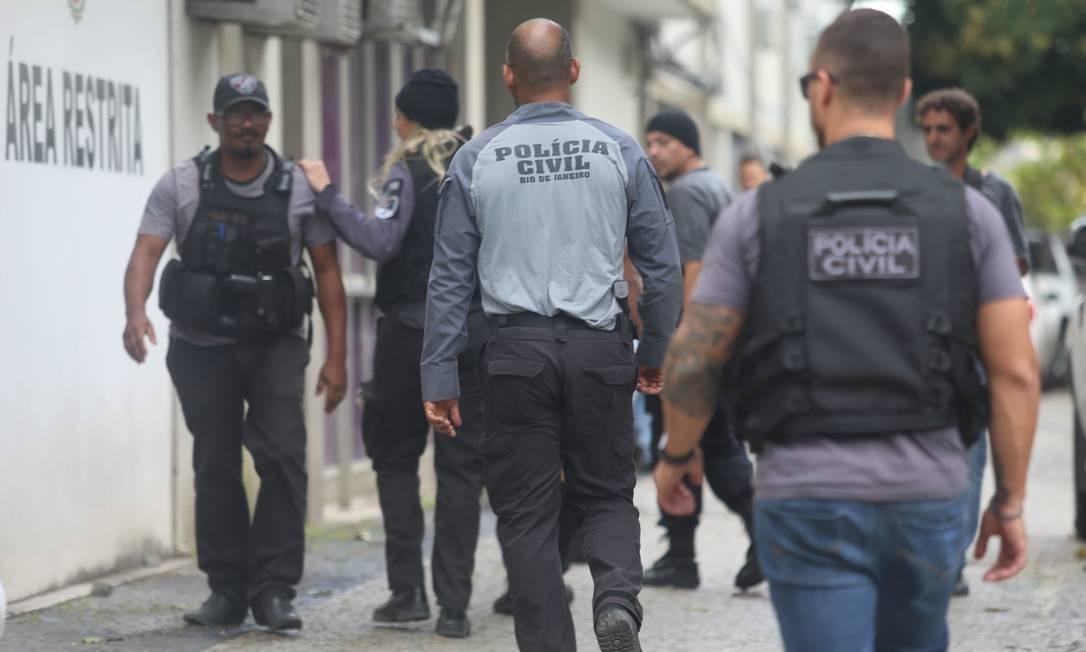 Operação da Polícia mira milícia ultraviolenta em Itaboraí Foto: Fabiano Rocha / Agência O Globo