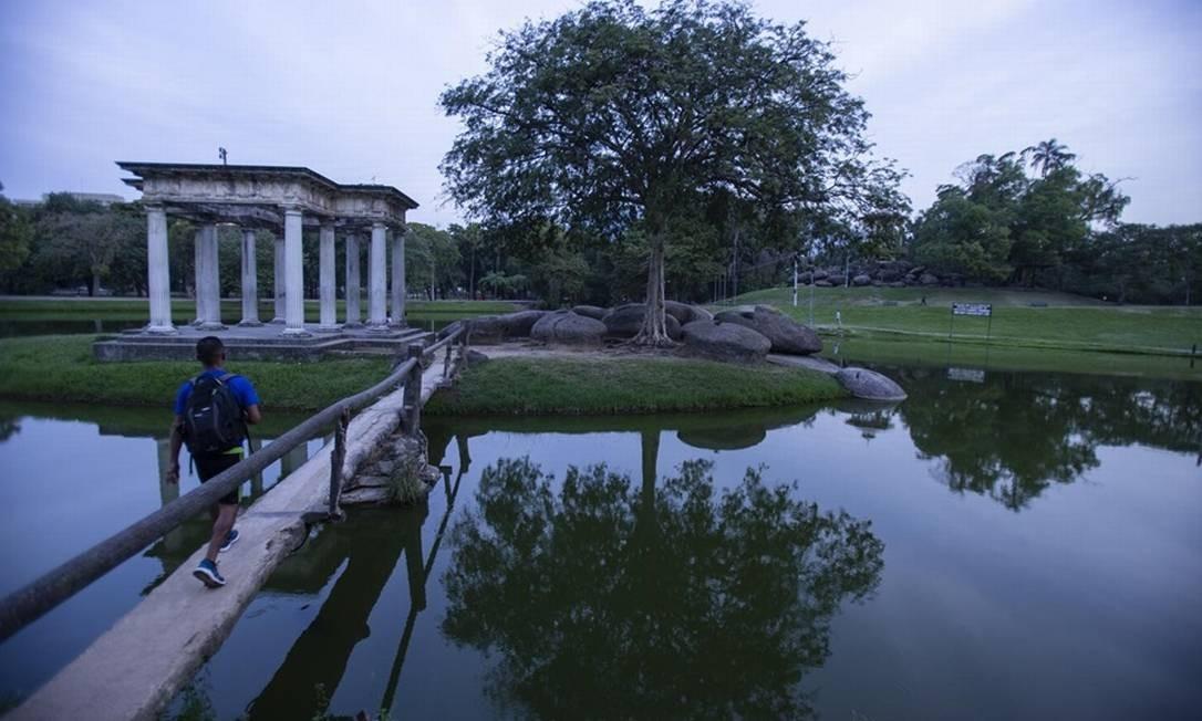 Quinta da Boa Vista: ideal para piquenique e dia de lazer Foto: Alexandre Cassiano