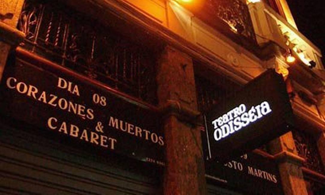 Fachada do Teatro Odisseia Foto: Divulgação