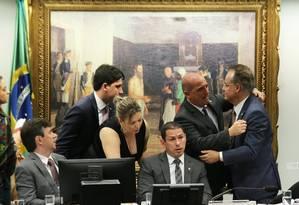 Comissão especial da reforma da Previdência Foto: Jorge William / Agência O Globo