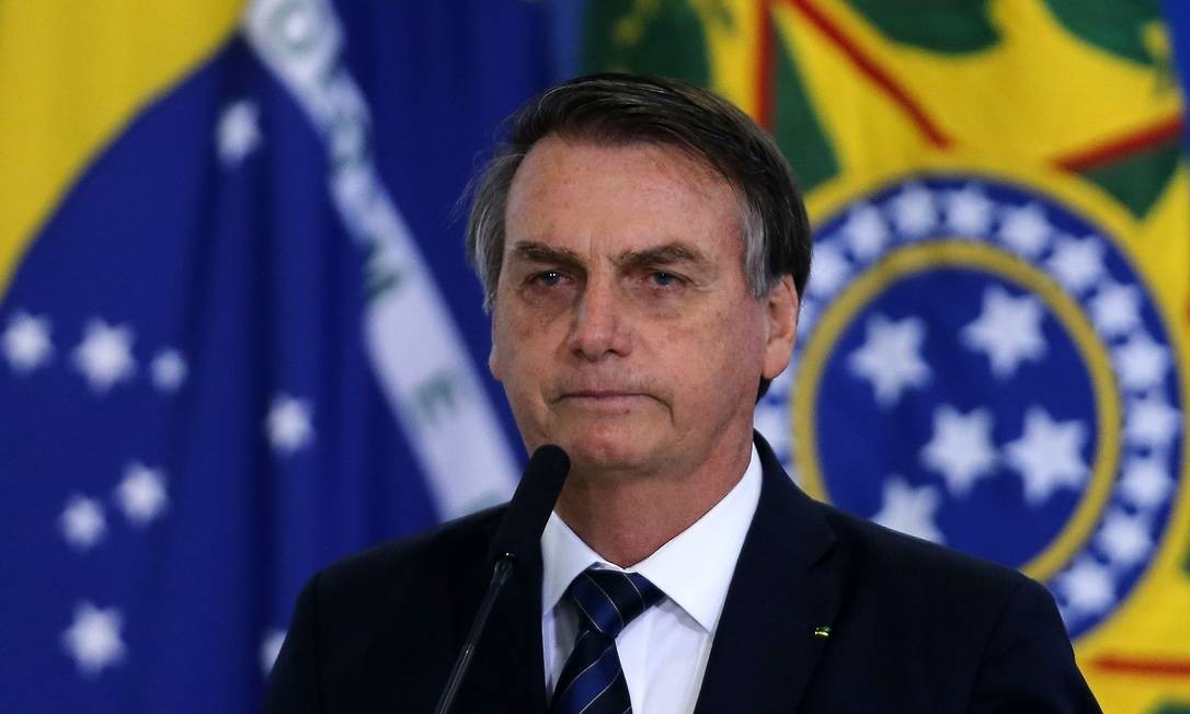 Jair Bolsonaro diz que começou a trabalhar aos 9 anos Foto: Jorge William / Agência O Globo