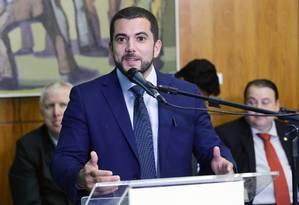 Deputado Carlos Jordy, do PSL do Rio de Janeiro Foto: Michel Jesus/Câmara dos Deputados