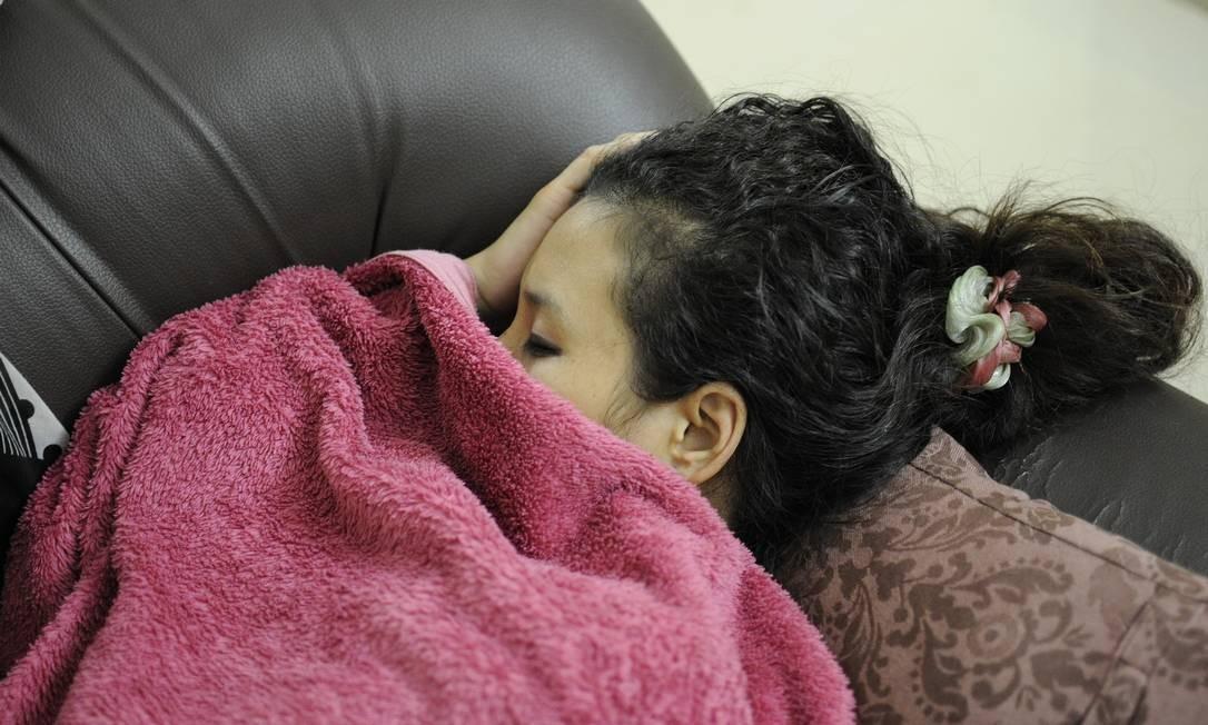 Vontade de ficar dormindo aumenta nos dias frios. Foto: Pixabay