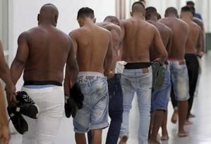 Dos 159 presos na festa da milícia, ninguém está preso. A maioria foi inocentada Foto: Divulgação