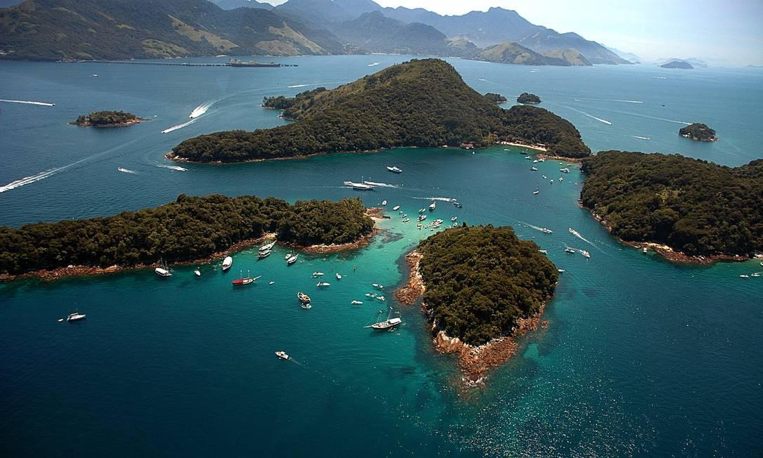 A beleza das ilhas da Baía da Ilha Grande Foto: Divulgação