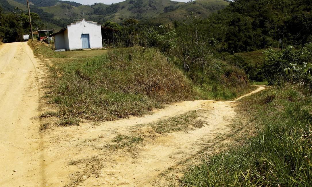 Quilombo Cabral, em Paraty, onde vivem 400 pessoas Foto: Marcelo Piu / Agência O Globo
