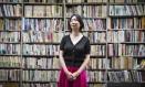 Kaeruko Akeno, escritora cujo romance inspirou a série 'Não vou fazer hora extra, e ponto final!' Foto: NORIKO HAYASHI / NYT