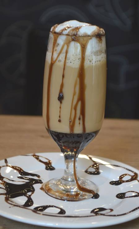 Le Pain: O Chocolate Mocha com chanthilly, café, leite e calda de chocolate é da Le Pain (R$ 7). Rua Lemos Cunha 333, Icaraí. Foto: Divulgação / Divulgação
