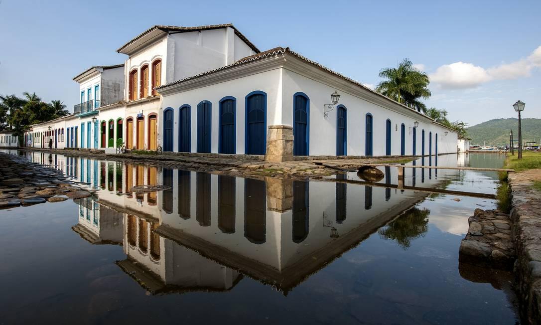 Centro histórico de Paraty Foto: OHLiberal / Agência O Globo