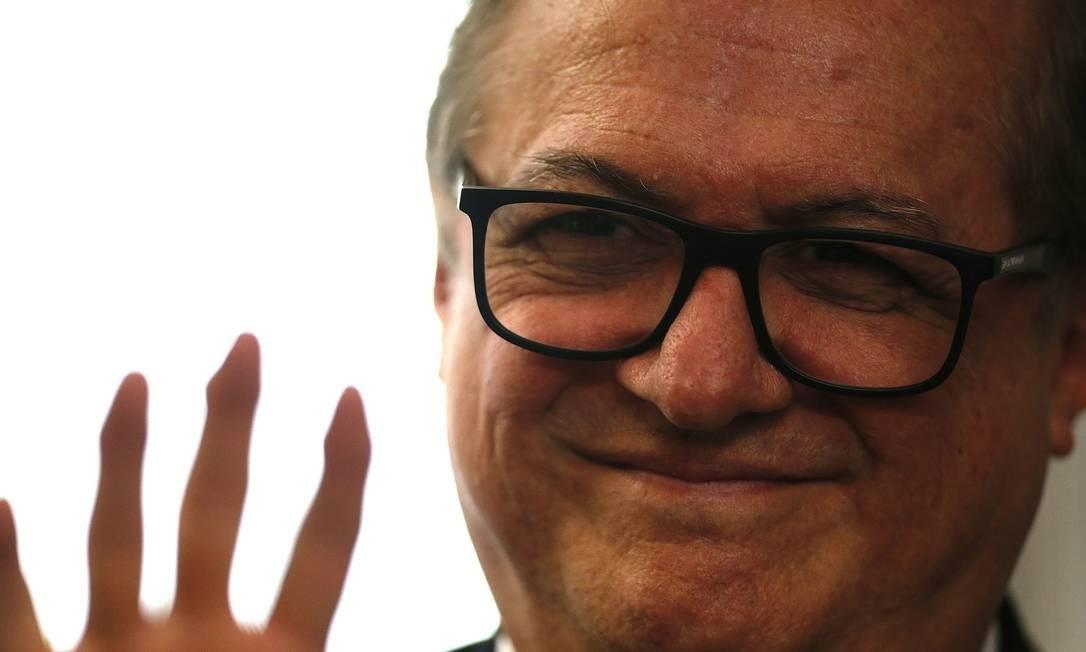 O então ministro da Educação, Ricardo Vélez Rodriguez Foto: Jorge William / Agência O Globo
