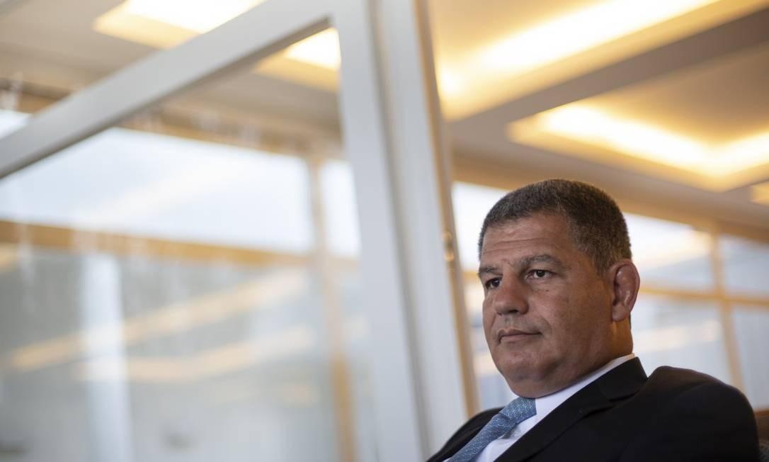 O ex-ministro e ex-braço direito de Bolsonaro Gustavo Bebianno Foto: Alexandre Cassiano / Agência O Globo