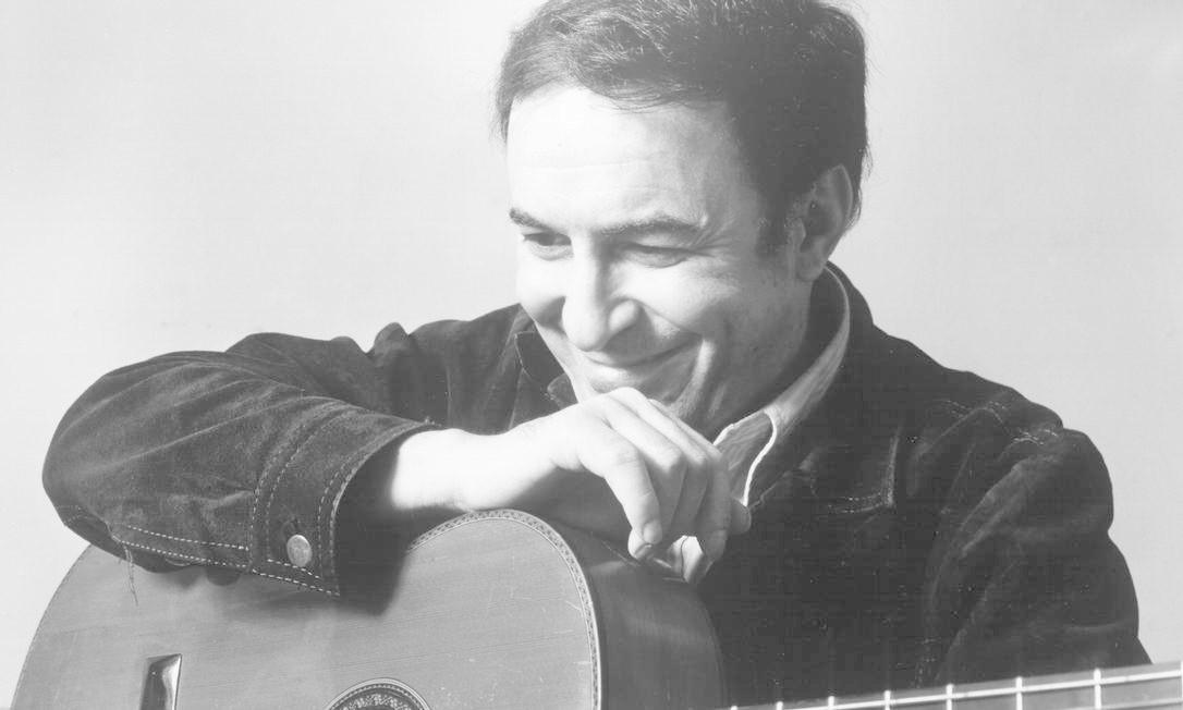 João Gilberto nos anos 70. O compositor morou fora do Brasil por mais de uma década, só retornando nos anos 80 Foto: Michael Ochs Archives / Getty