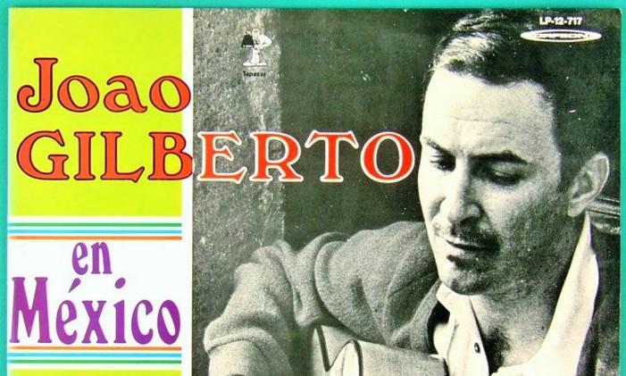 João Gilberto en Mexico Foto: Reprodução / Internet