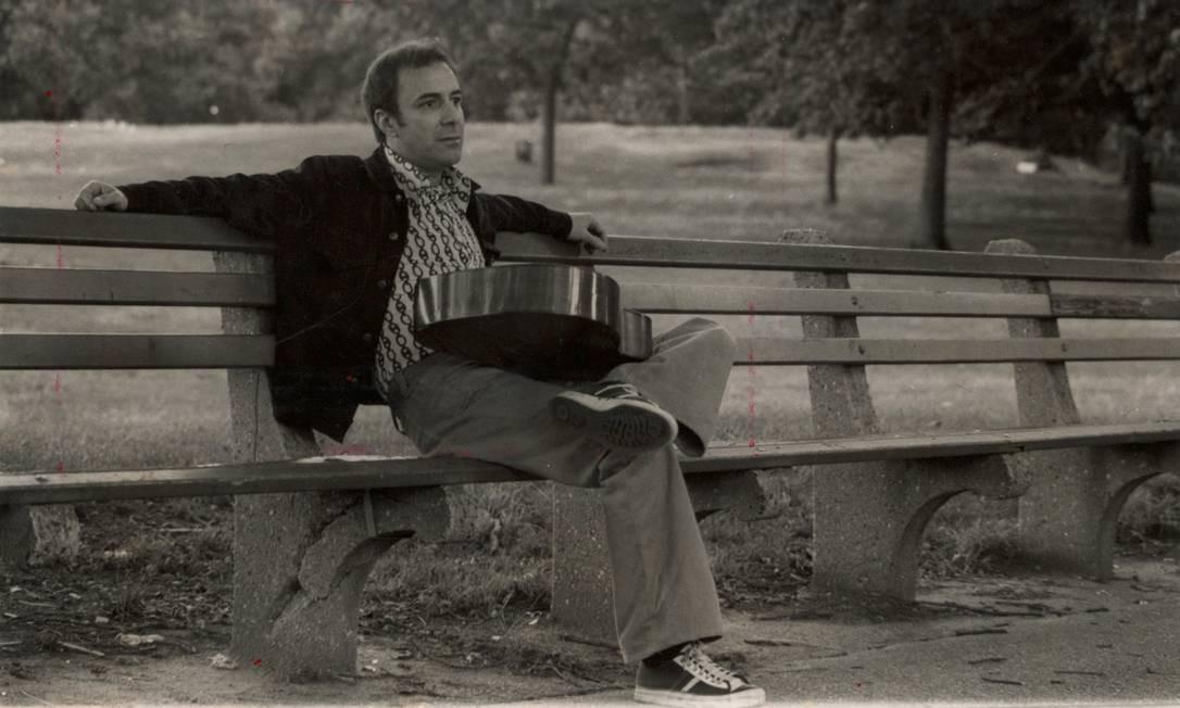 João Gilberto em 1974: por trás do semblante tranquilo, manias estranhas e um comportamento personalíssimo Foto: Divulgação / Divulgação / João Gilberto