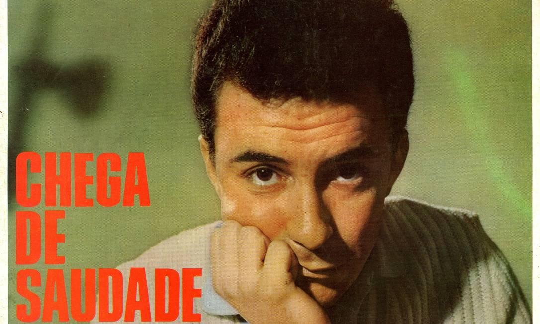 """Lançado em 1958, o compacto """"Chega de saudade"""" apresentou a Bossa Nova ao mundo. No lado B, João tocava sua """"Bim bom"""". Críticos puristas estranharam aquele samba estilizado e chegaram a dizer que João desafinava Foto: Reprodução"""