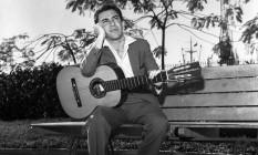 João Gilberto nos anos 1960 Foto: Agência O Globo