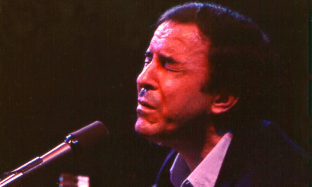 João Gilberto, nos anos 60 Foto: Tom Copi / Michael Ochs Archives / Getty Images