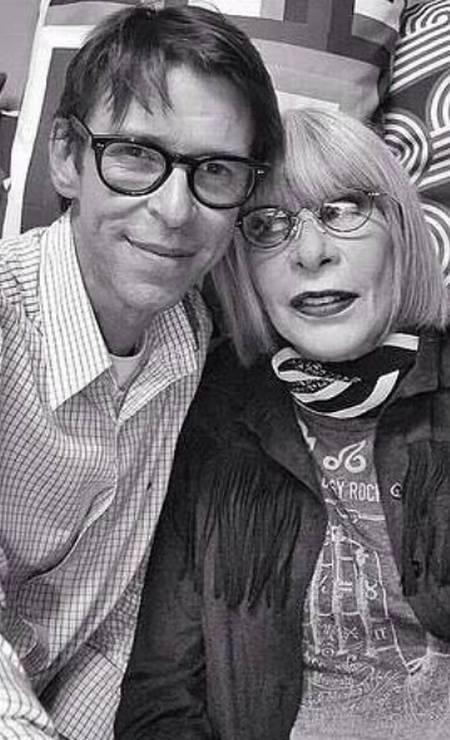 Duda com Rita Lee Foto: Reprodução/ Instagram