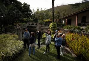 Visitantes sempre ficam impressionados com a diversidade da flora Foto: Pablo Jacob / Agência O Globo