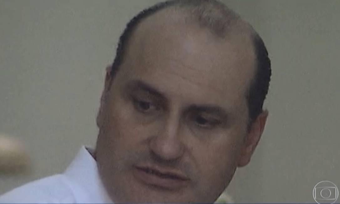 Cesar Mata Pires Filho, herdeiro da empreiteira OAS Foto: Reprodução/TV Globo
