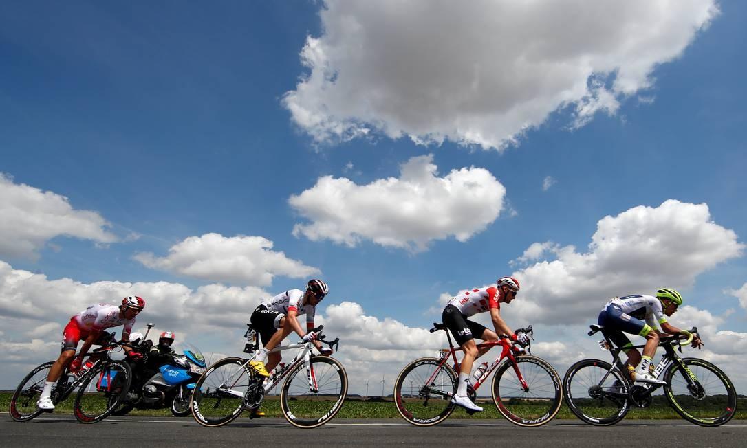 106ª edição da corrida de ciclismo Tour de France Foto: CHRISTIAN HARTMANN / REUTERS