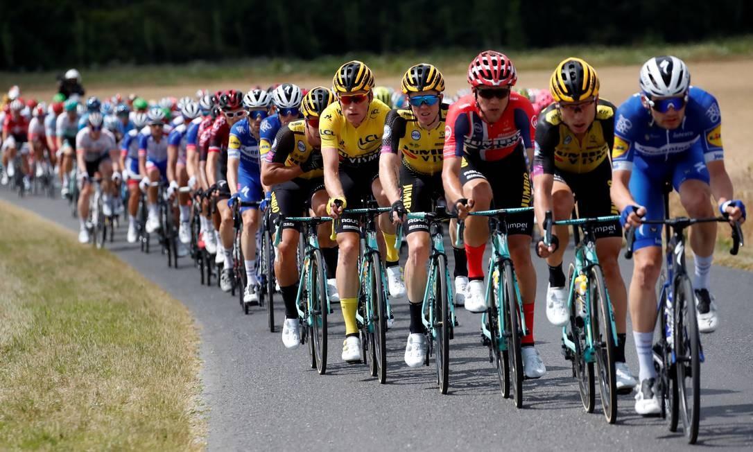 106ª edição da corrida de ciclismo Tour de France entre Binche e Epernay Foto: CHRISTIAN HARTMANN / REUTERS