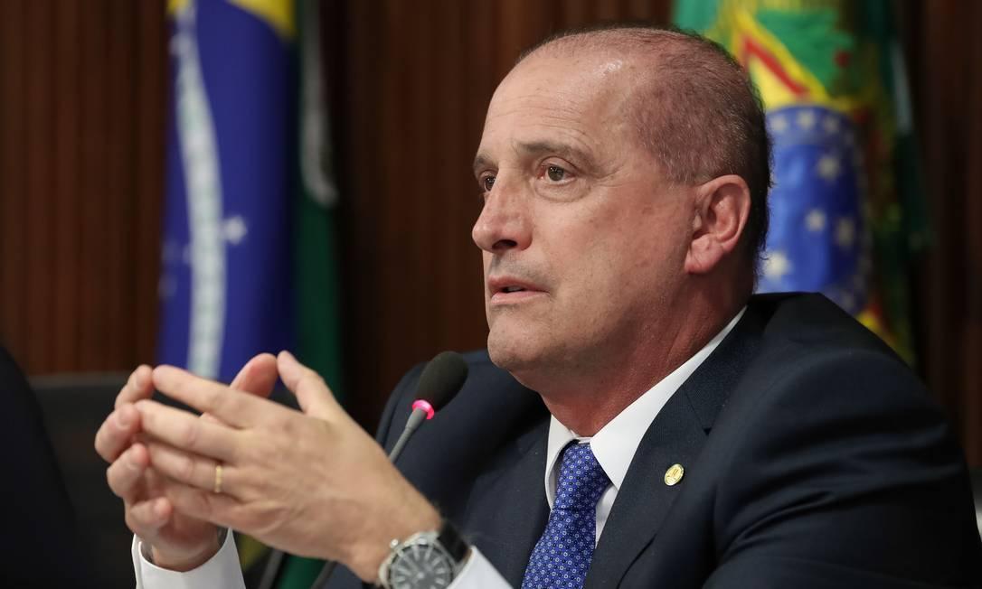 O ministro da Casa Civil, Onyx Lorenzoni Foto: Marcos Corrêa/PR / Agência O Globo