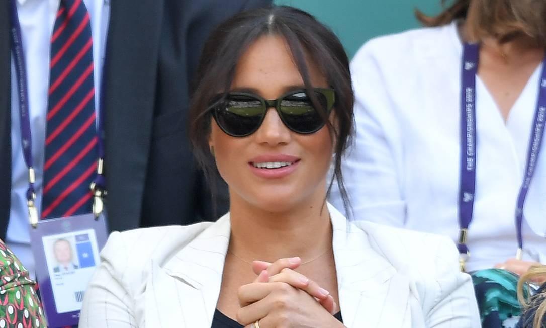Meghan Markle em Wimbledon Foto: Karwai Tang / Getty Images