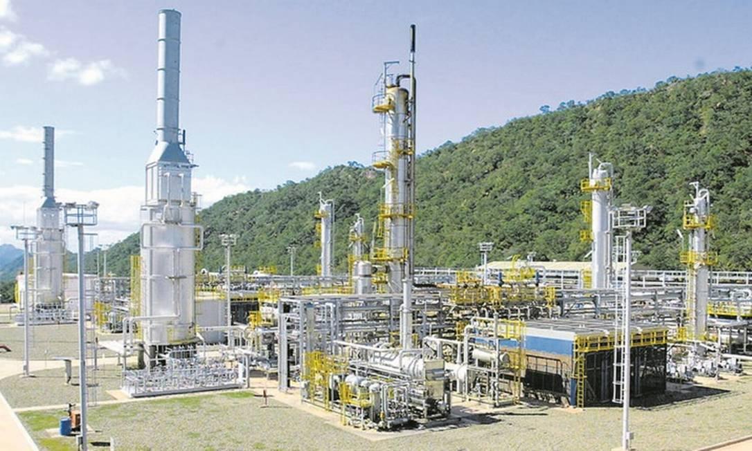 Produção de gás em San Antonio, na Bolívia: Petrobras deixará de dominar toda a logística de importação do combustível do país vizinho Foto: Michel Filho-Agência O Globo