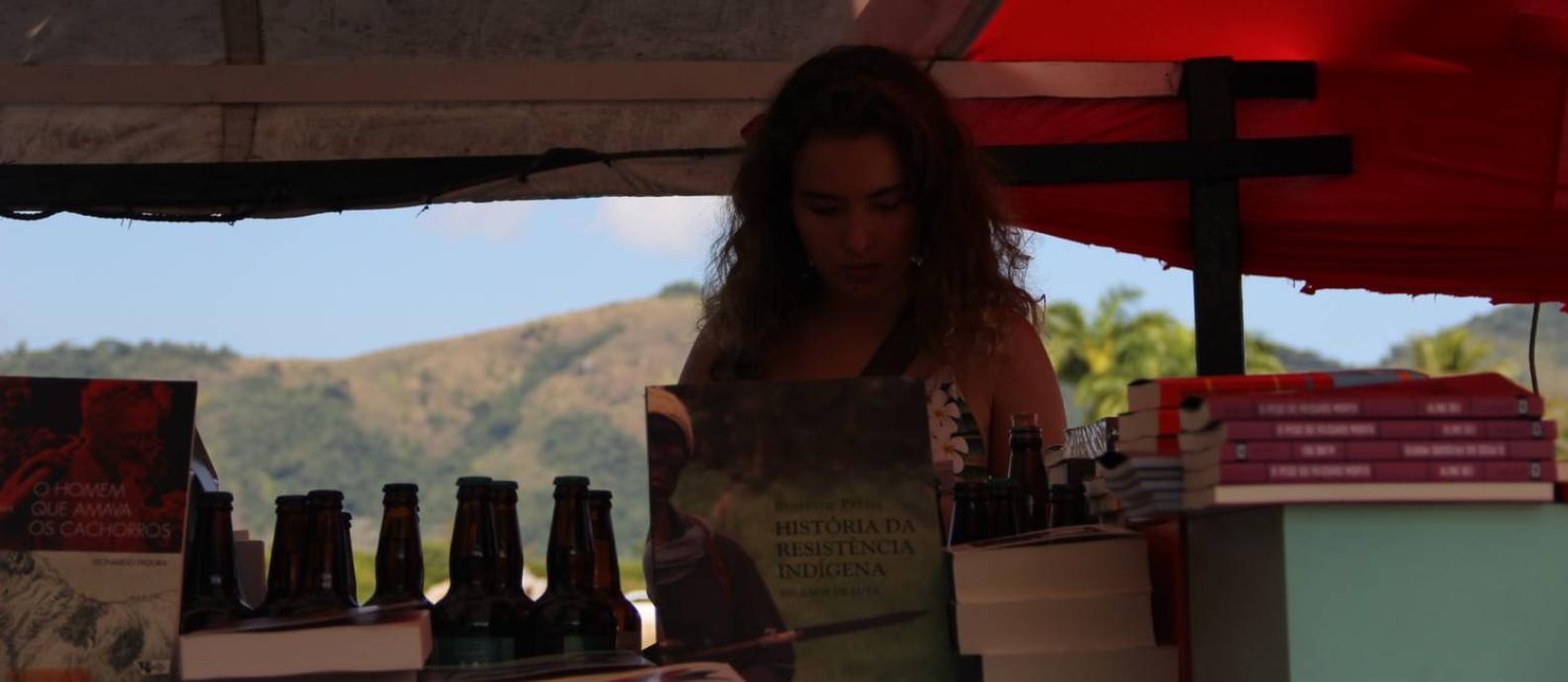 Foto do Barco Flipei (Festa Literária Pirata das Editoras Independentes), que integra a programação paralela da Flip Foto: Divulgação