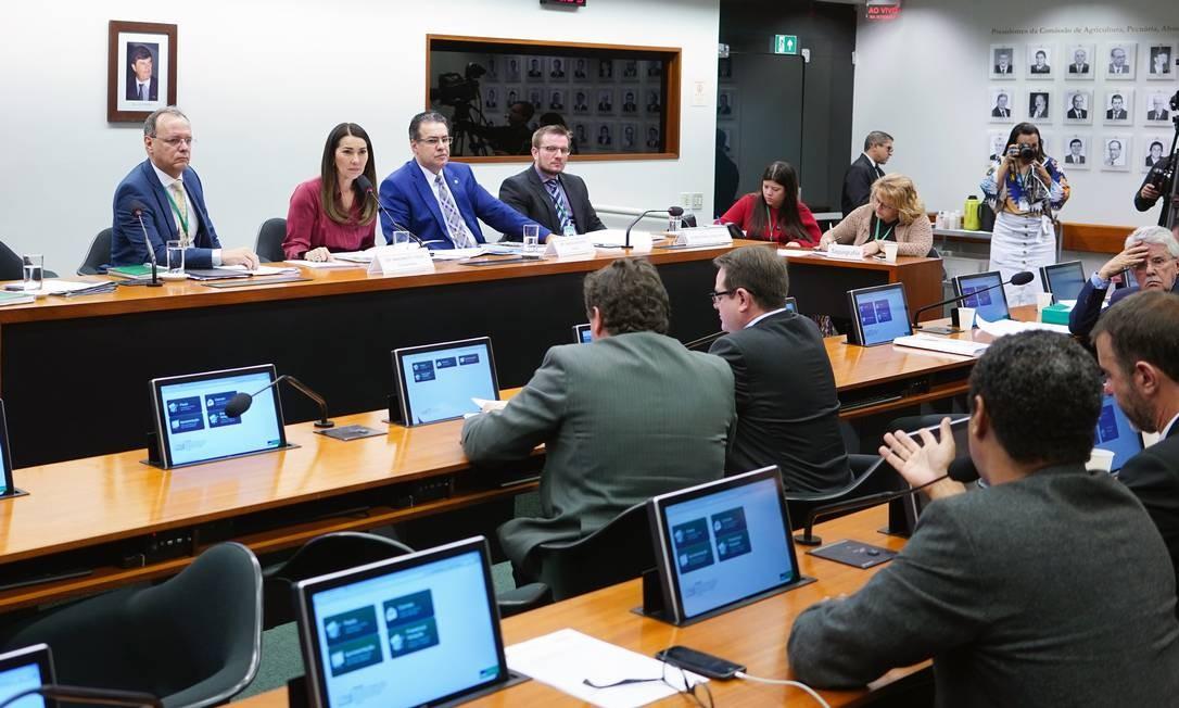 Reunião do grupo de trabalha que analisa o pacote anticrime Foto: Will Shutter/Câmara dos Deputados