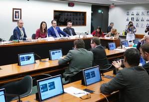 Reunião do grupo de trabalho que analisa o pacote anticrime Foto: Will Shutter/Câmara dos Deputados