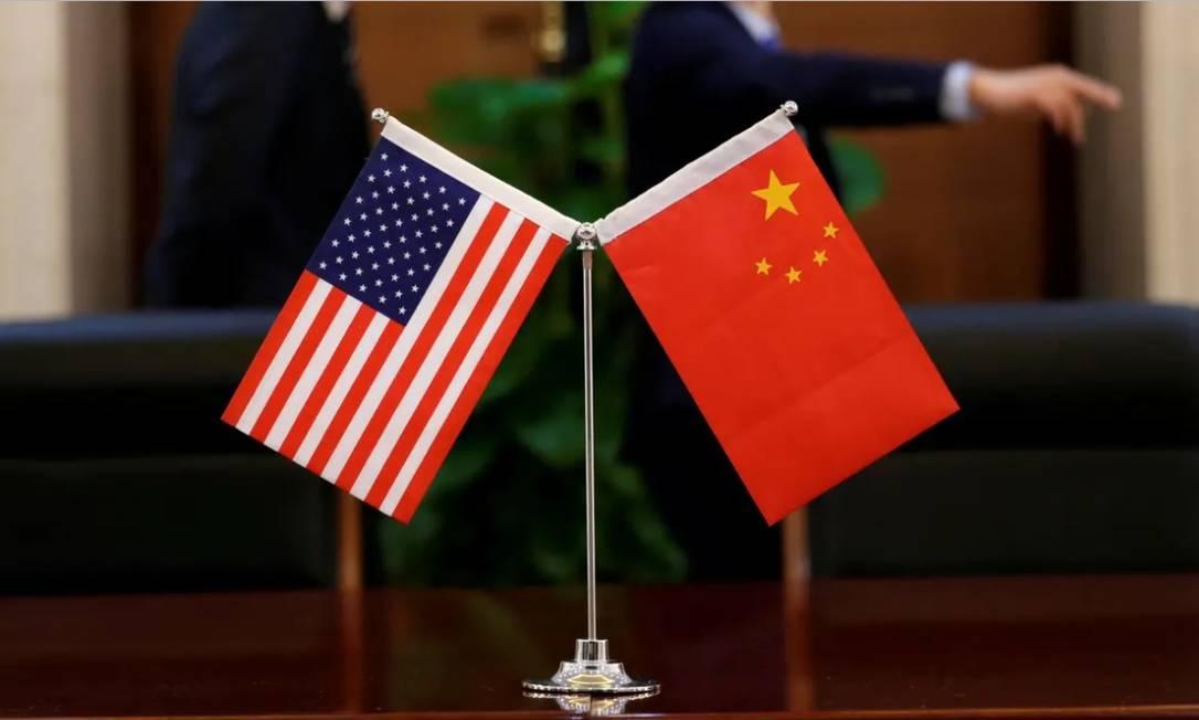 EUA e China tentam achar uma saída para a guerra comercial Foto: Reuters