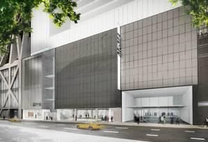 Desenho do projeto do novo MoMA, assinado pela Diller Scofidio + Renfro, com colaboração da Gensler Foto: Divulgação / © 2017 Diller Scofidio + Renfro