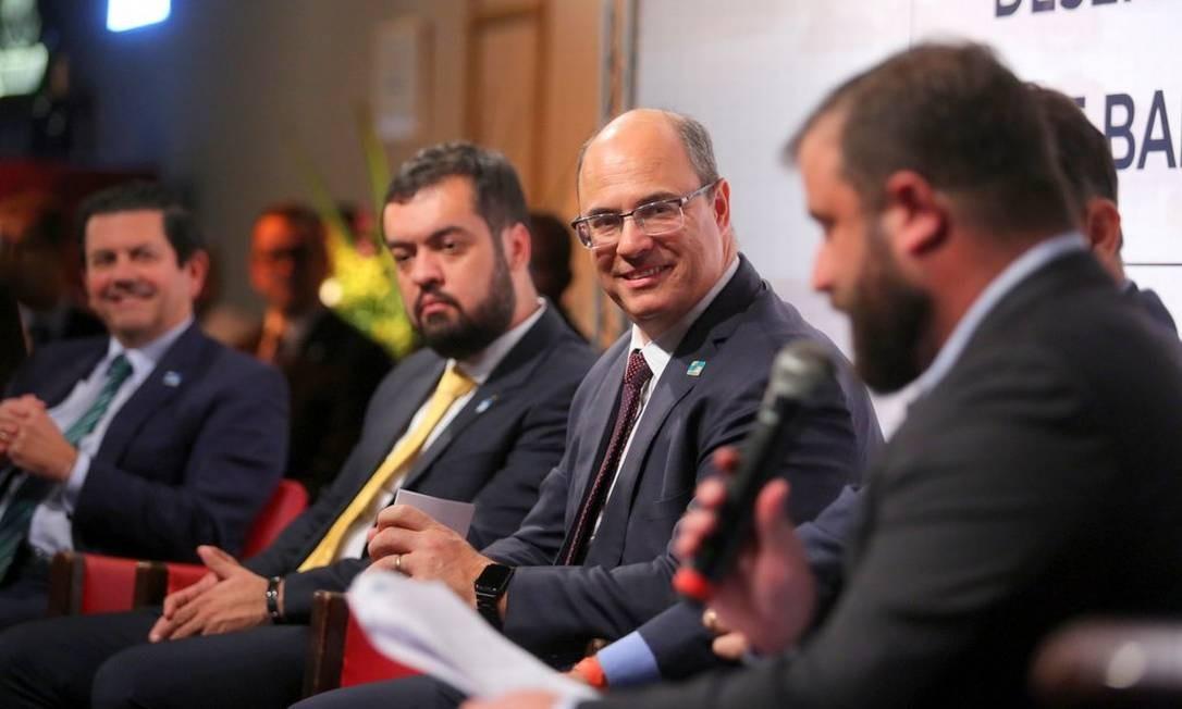 Witzel participou do lançamento do decreto de redução do ICMS para o setor de alimentação Foto: Divulgação