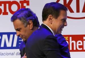 O governador de São Paulo, João Doria, defende a saída de Aecio Neves do PSDB Foto: Edilson Dantas / Agência O Globo (06/12/2016)