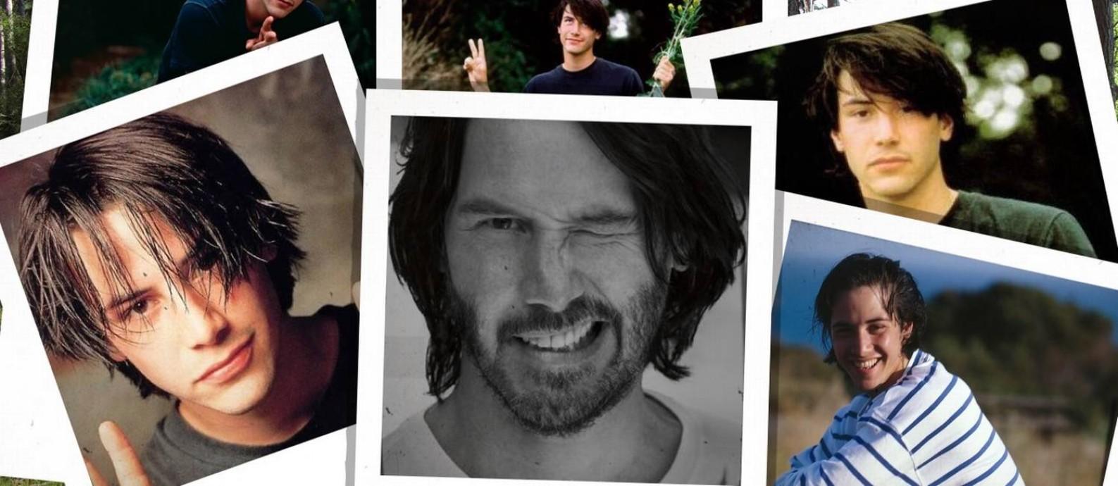 Imagem de Keanu Reeves Dating Simulator: game dá a chance do jogador se envolver com o ator de 'Matrix' Foto: Reprodução