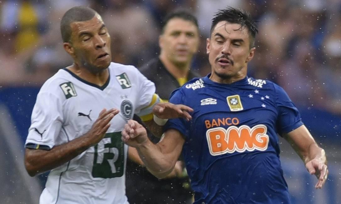 Cruzeiro defendeu o Cruzeiro entre 2013 e 2014 Foto: ALEX ARAUJO / AFP